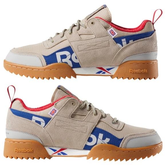 5dd64eb551f5 New Reebok Classics Workout Plus Sneakers